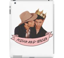 Misha and Jensen iPad Case/Skin