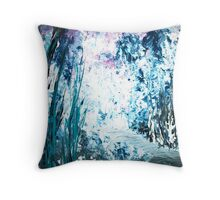 The Enlightened One Emerges Throw Pillow