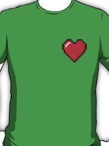 Zelda Heart. - Pixel  T-Shirt