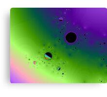 The Melula Solar System Canvas Print