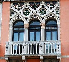 Palazzo Foscari Facade by Renee Hubbard Fine Art Photography