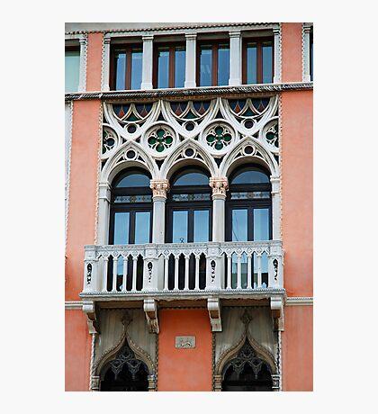 Palazzo Foscari Facade Photographic Print