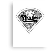 Phillies baseball stadium Canvas Print
