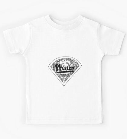 Phillies baseball stadium Kids Tee