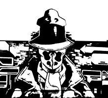 Rorschach Black by 92lk