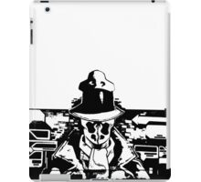 Rorschach Black iPad Case/Skin