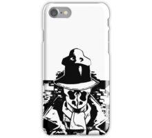 Rorschach Black iPhone Case/Skin