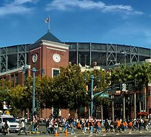 San Francisco Baseball by don thomas