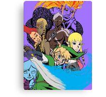 the legend of zelda skyward sword cast  Canvas Print