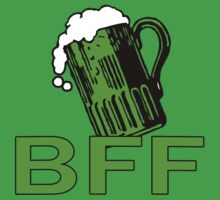 Green Beer BFF Funny St Patrick's Day Tee by Greenbaby
