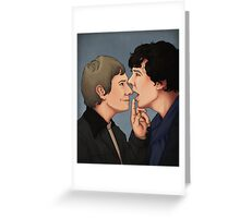 Shut up, Sherlock Greeting Card
