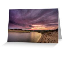 Inverness Beach Sunrise Greeting Card