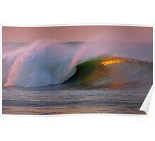 Ventura Dawn Wave Poster
