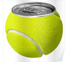 Tennis Ball Can  Poster