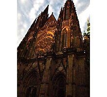 St Vitus Cathedral (Prague Castle) Photographic Print