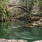 Bridge at Moulton Falls Park - North Clark Co. by Mark Heller