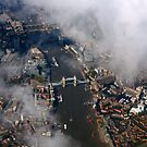 Ariel View of London Bridge by Suzanne Forbes-Murray