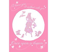 Once Upon a Dream (Make it Pink!) Photographic Print