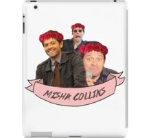 Misha Collins iPad Case/Skin