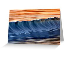 Standing Wave Greeting Card