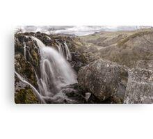 Loup of Fintry waterfall Metal Print