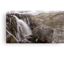 Loup of Fintry waterfall Metal Print