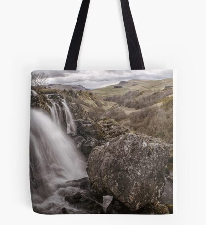 Loup of Fintry waterfall Tote Bag