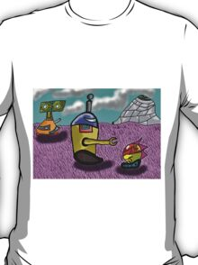 world ruled by robots  T-Shirt