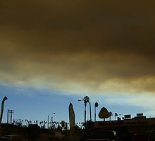 Firestorm in Anaheim by Joods