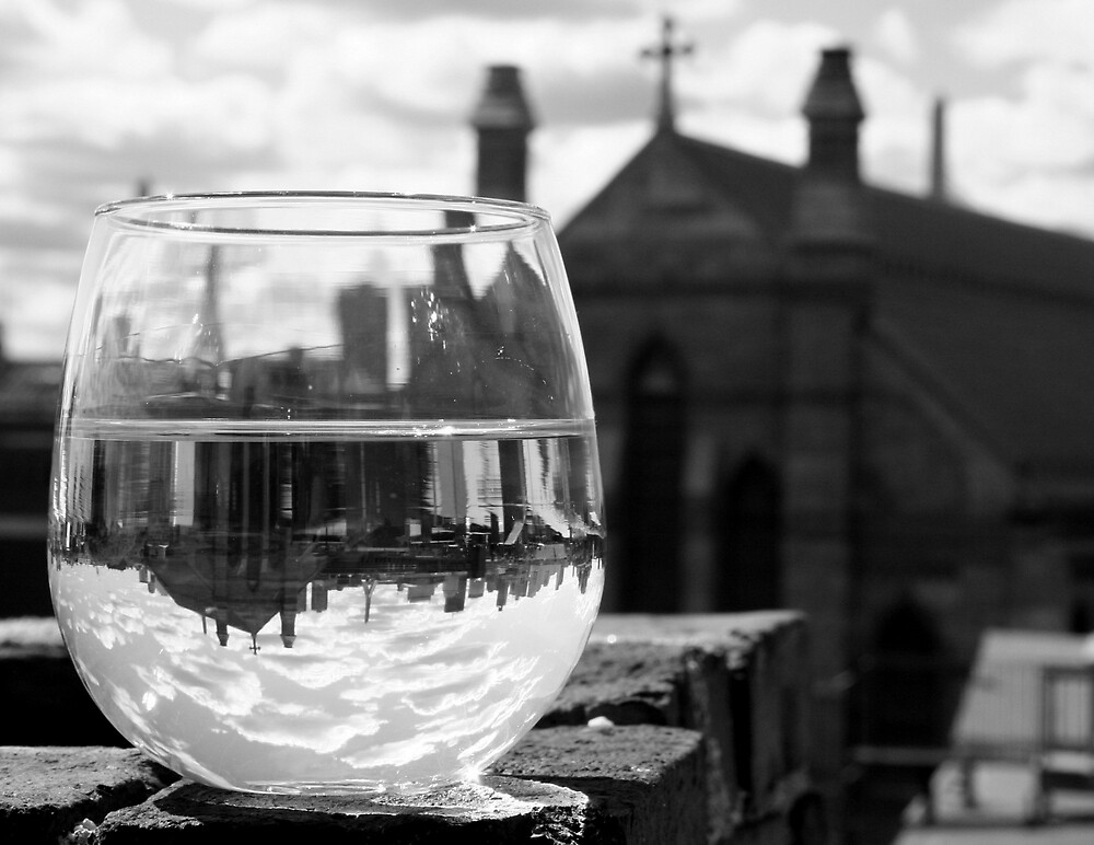 Wineglass in Charlestown by Amy Polkowski