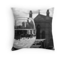 Wineglass in Charlestown Throw Pillow