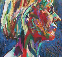 Portrait of Viv(Abstract) by Josh Bowe