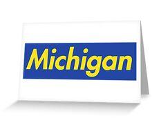 Supreme Michigan Greeting Card