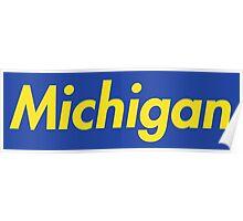 Supreme Michigan Poster