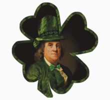Lucky Ben Franklin Ready for St Patricks Day Kids Clothes