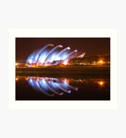 Clyde Auditorium in Glasgow Art Print