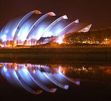 Clyde Auditorium in Glasgow by memphisto