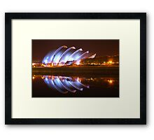 Clyde Auditorium in Glasgow Framed Print