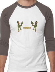 stereo spacecadets Men's Baseball ¾ T-Shirt
