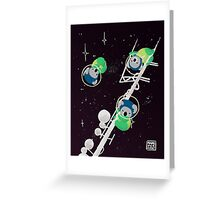 Space Koalas Greeting Card