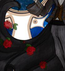 Steampunk Tuxedo Mask Sticker