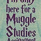 Muggle studies - Harry Potter by Noah  Waters