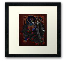 Steampunk Tuxedo Mask Framed Print