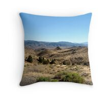 somewhere in the sierras Throw Pillow