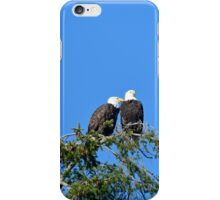 Two Bald Eagles iPhone Case/Skin