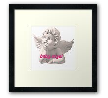 Baby Angel Framed Print