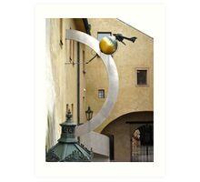Prague Castle mystery Art Print