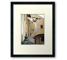 Prague Castle mystery Framed Print
