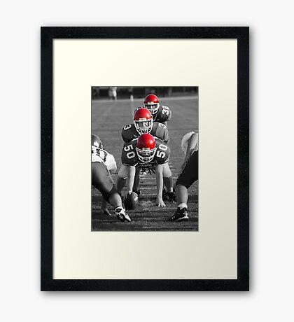 Ready Set? Two Framed Print