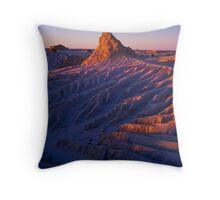 Lake Mungo Sunset Throw Pillow